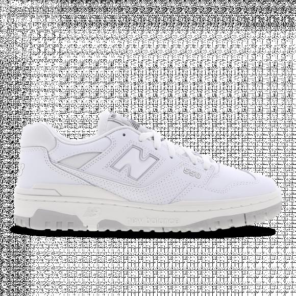 New Balance White 550 Sneakers - BB550PB1