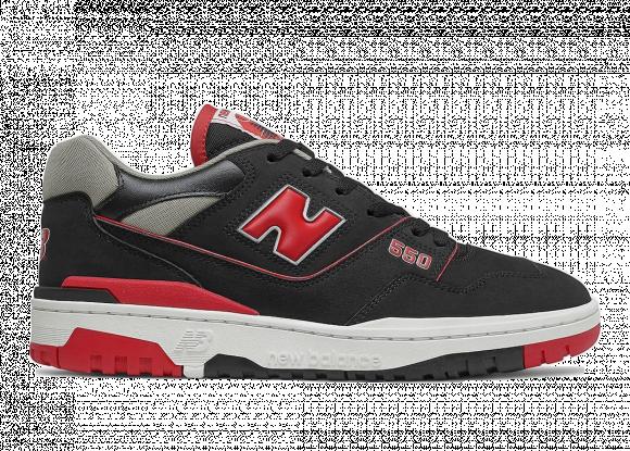 New Balance 550 Black Red - BB550SG1