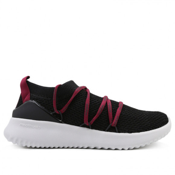 Adidas Neo Womens WMNS Ultimamotion 'Mystery Ruby' Carbon/Carbon/Mystery Ruby Marathon Running Shoes/Sneakers BB7308