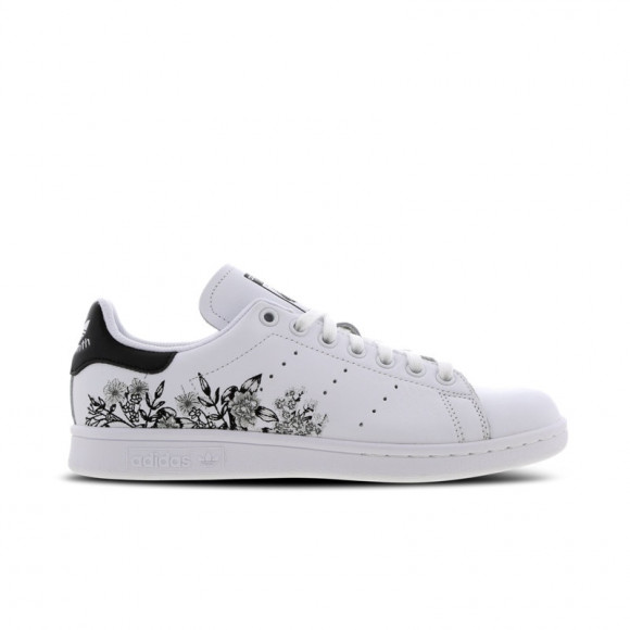 adidas Stan Smith Flower Embroidery Women Shoes BC0257