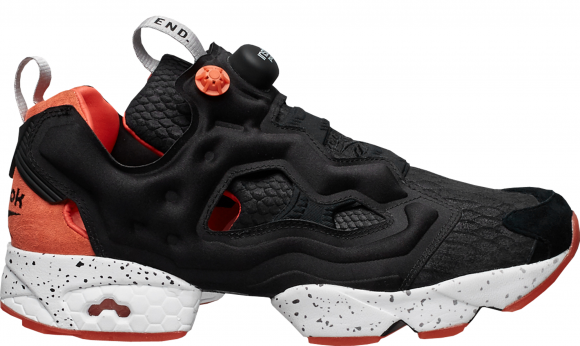 Reebok Instapump Fury END Black Salmon - BD3347
