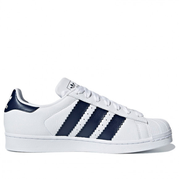 Adidas Superstar 'Collegiate Navy' Cloud White/Collegiate Navy/Cloud White Sneakers/Shoes BD8069