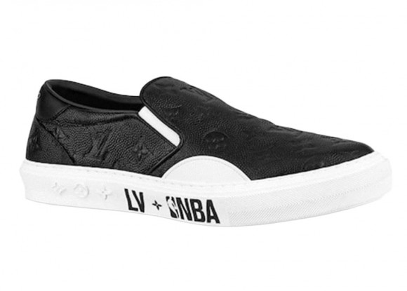 Louis Vuitton x NBA Ollie Slip On Black - BL9I1PGC02N