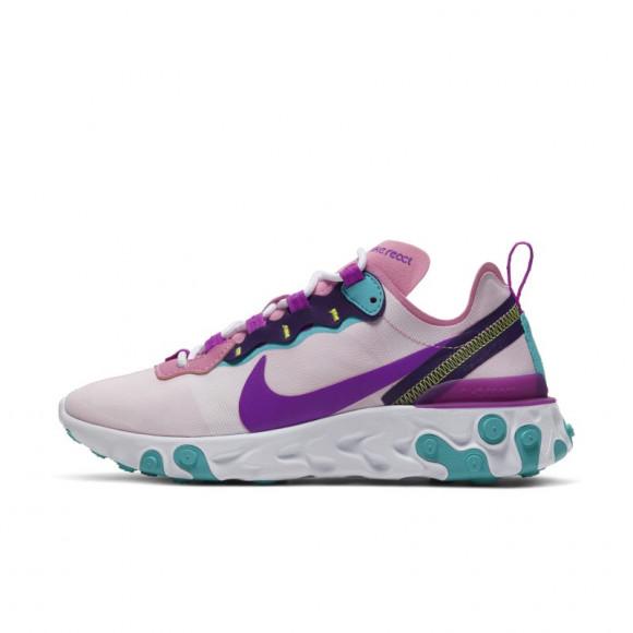 Chaussure Nike React Element 55 pour Femme - Rose - BQ2728-603