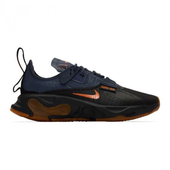 Nike Black and Navy React GTX Sneakers - BQ4737