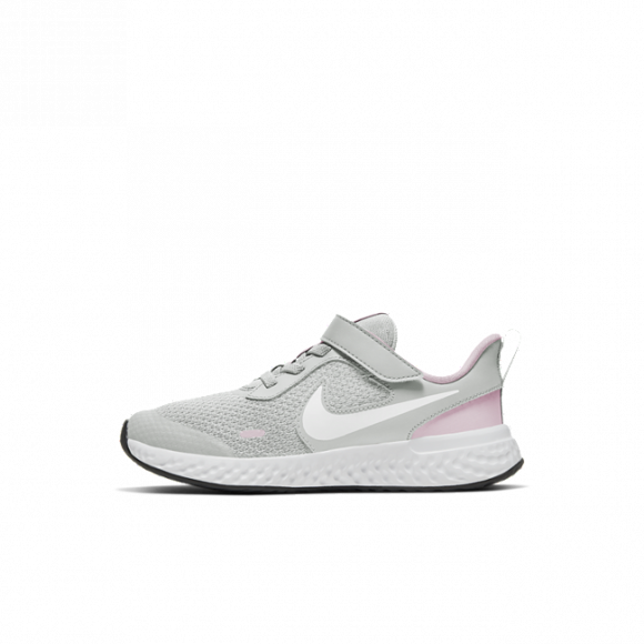 Chaussure Nike Revolution 5 pour Jeune enfant - Gris - BQ5672-021