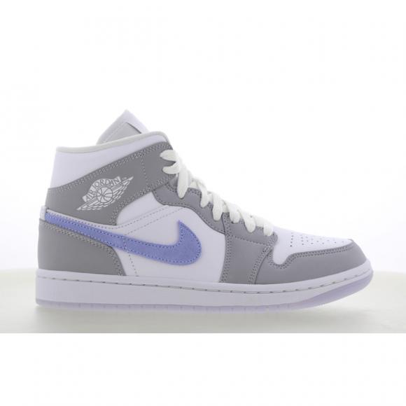 Jordan 1 Mid Grey Blue (W) - BQ6472-105