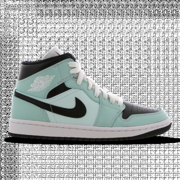 Jordan 1 Mid Aqua Blue Tint (W) - BQ6472-300