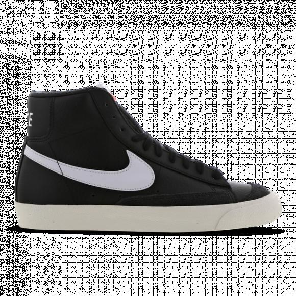 Nike Mens Nike Blazer Mid '77 - Mens Shoes Black/White/Sail Size 09.5 - BQ6806-002