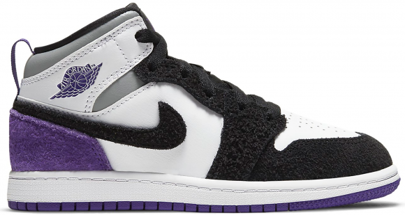 Jordan 1 Mid SE Purple (PS) - BQ6932-105