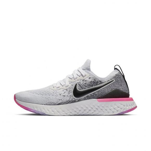 Grave papel Encantador  Nike Epic React Flyknit 2 Zapatillas de running - Mujer - Blanco -  BQ8927-103