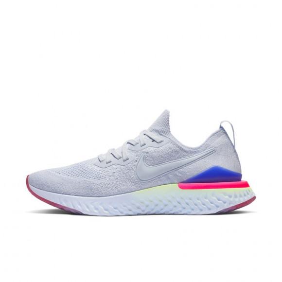 Nike Epic React Flyknit 2 Hardloopschoen voor dames - Blauw