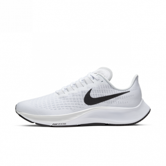Nike Air Zoom Pegasus 37 Men's Running Shoe - White - BQ9646-100