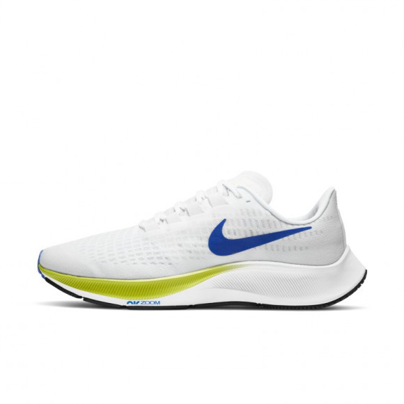Nike Air Zoom Pegasus 37 Men's Running Shoe - White - BQ9646-102