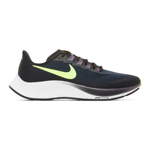 Nike White and Black Air Zoom Pegasus 37 Sneakers - BQ9646