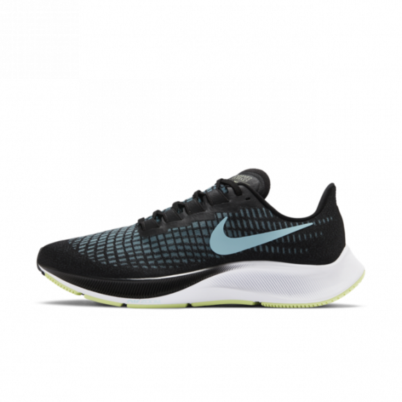 Nike Air Zoom Pegasus 37 Women's Running Shoe - Black - BQ9647-004