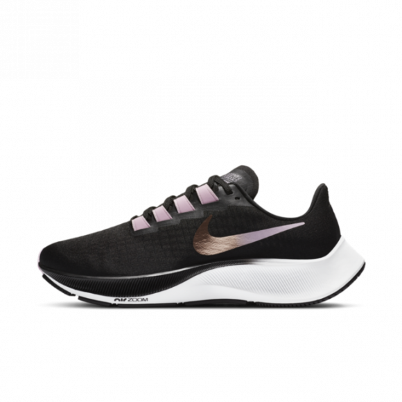 Nike Air Zoom Pegasus 37 Women's Running Shoe - Black - BQ9647-007