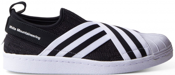 adidas Superstar Slip-On White Mountaineering Black - BY2880
