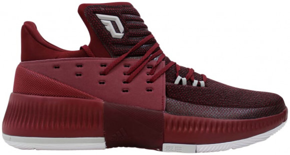 adidas Dame 3 Maroon - BY3195