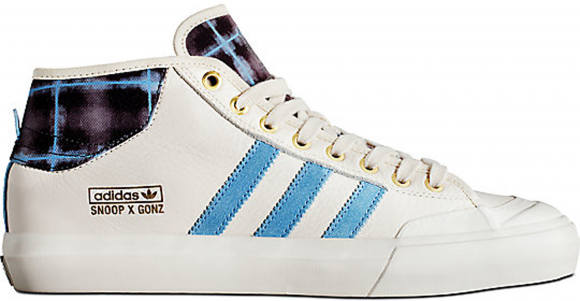 adidas Matchcourt Mid Snoop Dogg x Gonz Cream