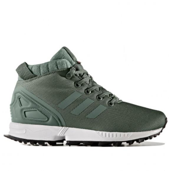 Adidas Originals Zx Flux 5 8 Tr J 绿色 Marathon Running Shoes ...