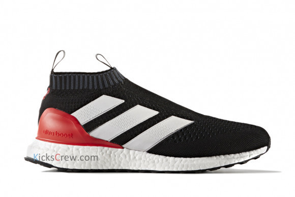 Adidas Ace 17 Purecontrol Ultra Boost Core Black Marathon Running Shoes/Sneakers BY9087