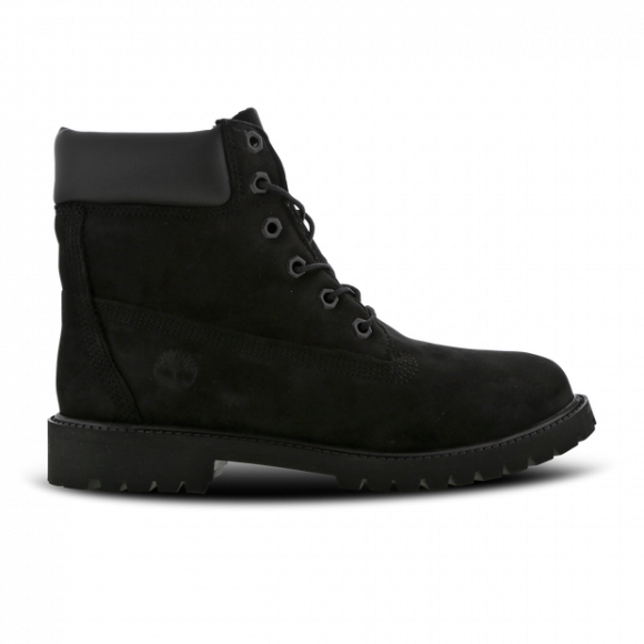 Timberland Junior 6 Inch Premium Waterproof Boots Casual Shoes Black- Boys- Size 4 M - C12907