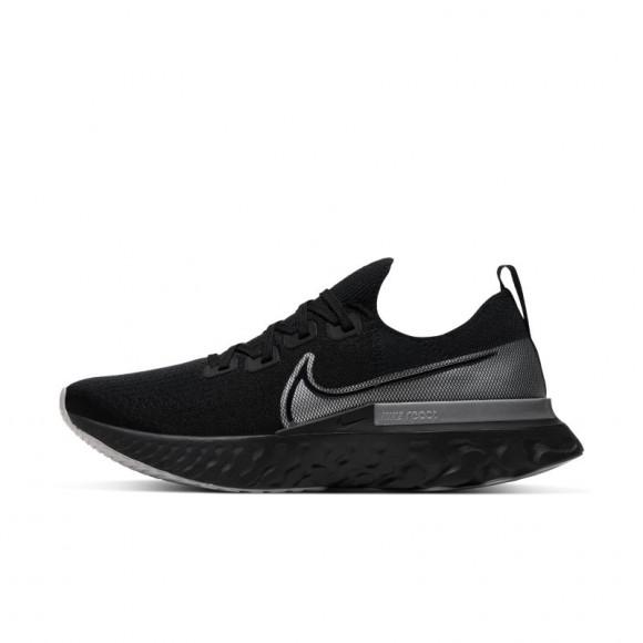 Nike React Infinity Run Flyknit Men's Running Shoe Black