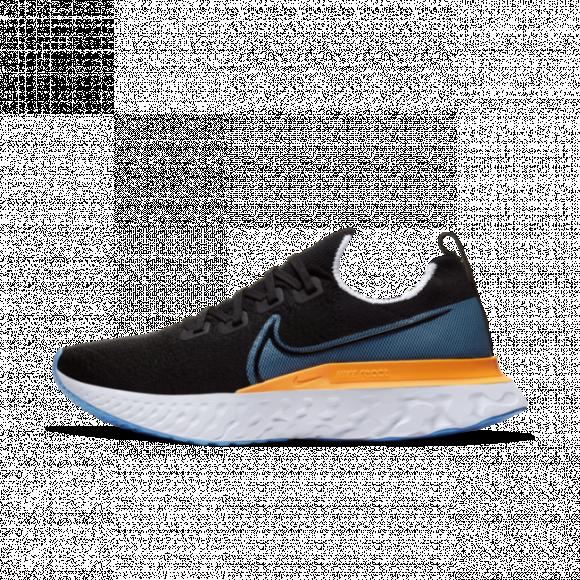 Nike React Infinity Run Flyknit Men's Running Shoe - Black - CD4371-007