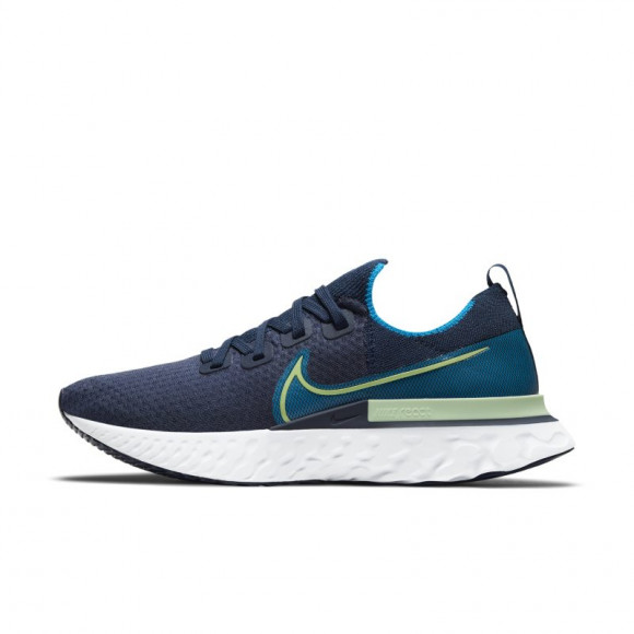 Nike React Infinity Run Flyknit Men's Running Shoe - Blue - CD4371-402