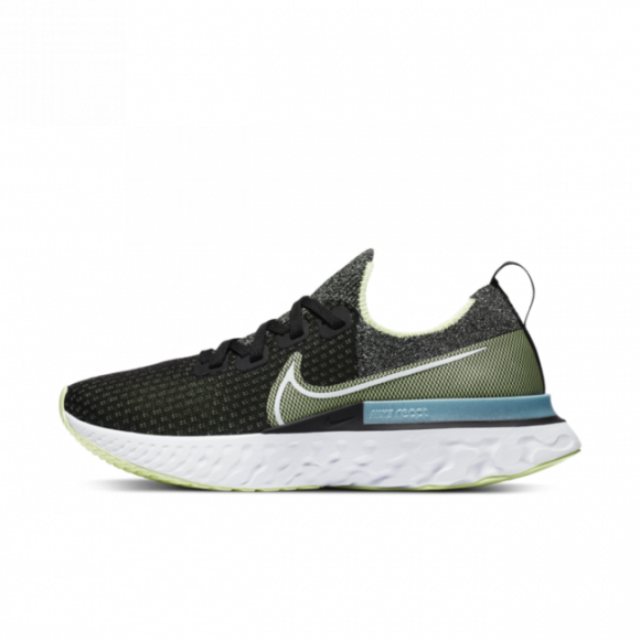 Nike React Infinity Run Flyknit Women's Running Shoe - Black - CD4372-006