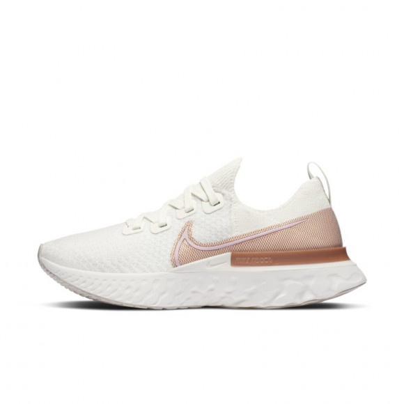 Nike React Infinity Run Flyknit Women's Running Shoe - White - CD4372-103
