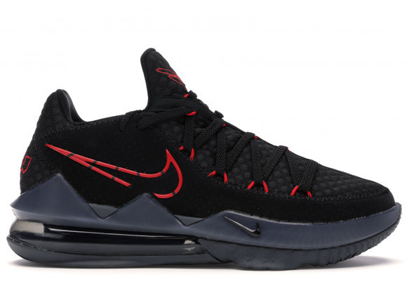 Nike LeBron 17 Low Black Red Dark Grey - CD5007-001/CD5006-001