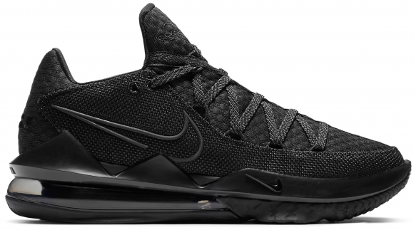 Nike LeBron 17 Low Triple Black - CD5007-003