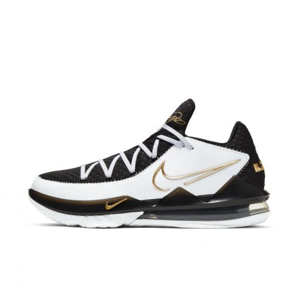 Nike LeBron 17 Low White Metallic Gold - CD5007-101