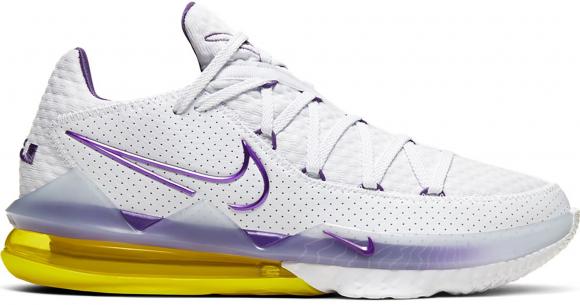 Nike LeBron 17 Low Lakers - CD5007-102/CD5006-102