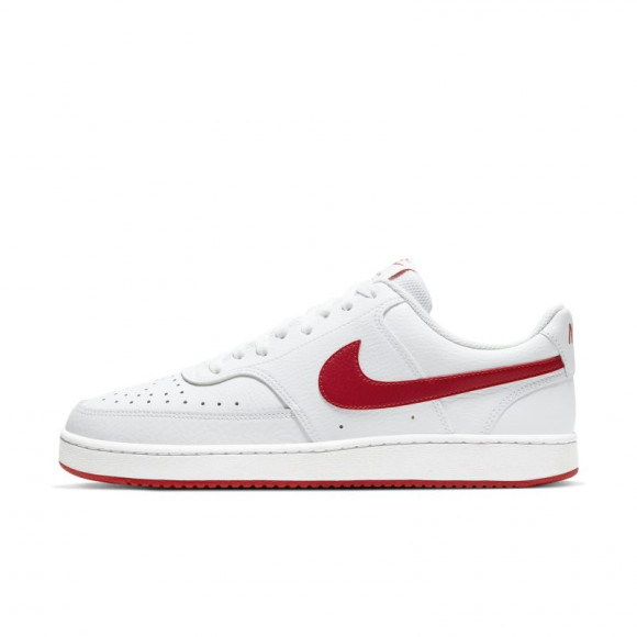 NikeCourt Vision Low White University Red - CD5463-102