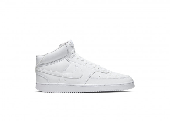 Nike Court Vision Mid White - CD5466-100