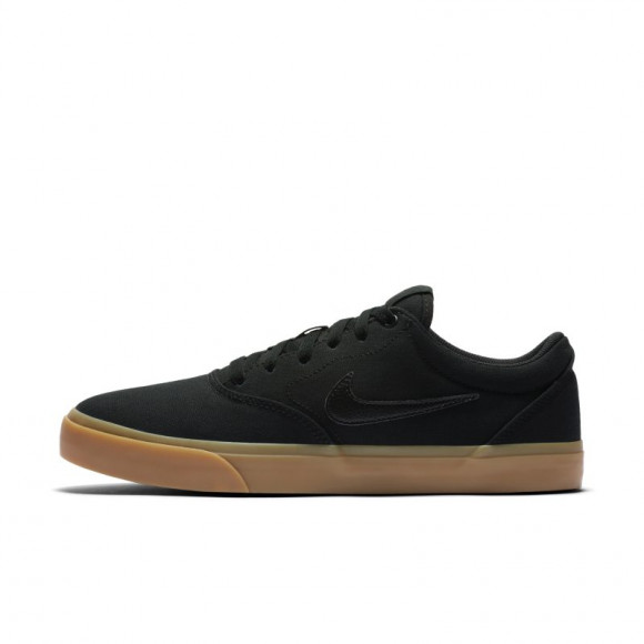Nike SB Charge Canvas Skate Shoe - Black - CD6279-004