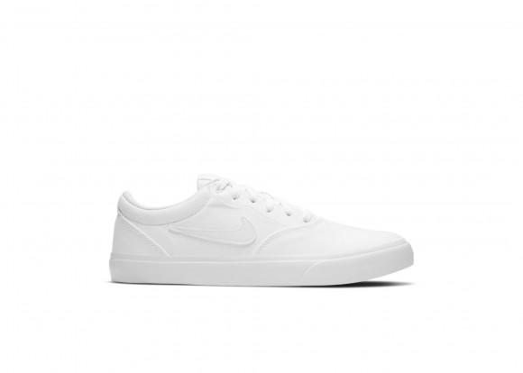 Chaussure de skateboard Nike SB Charge Canvas - Blanc - CD6279-100