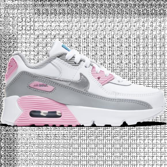 Nike Girls Nike Air Max 90 - Girls' Preschool Running Shoes ...
