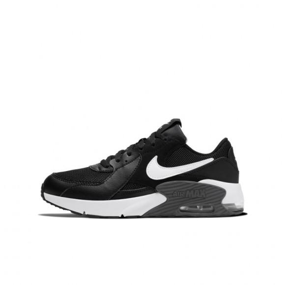 Nike Air Max Excee Athletic Shoe - Big Kid - Black / White - CD6894-001