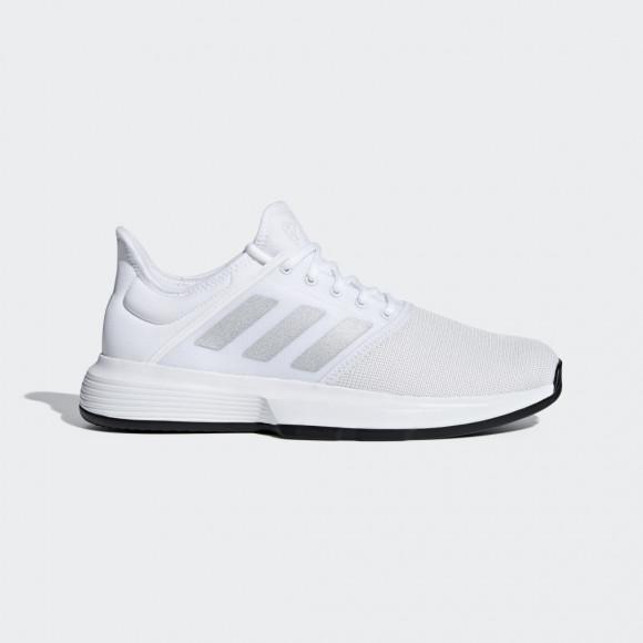 adidas GameCourt Shoes Cloud White Mens - CG6333