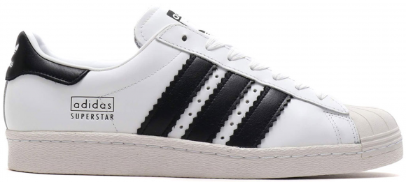 adidas Superstar 80s Enlarged Stripes White - CG6496