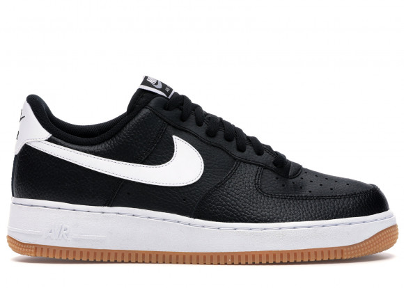 Nike Air Force 1 '07 Black White Gum - CI0057-002