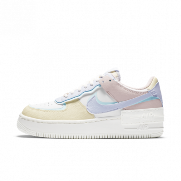 Nike Air Force 1 Shadow White Glacier Blue Ghost (W) - CI0919-106