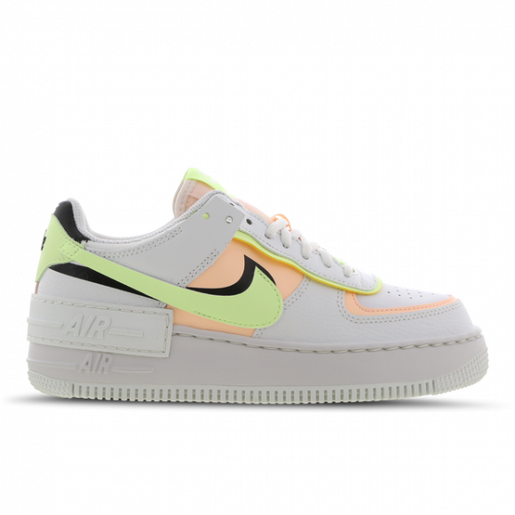 Nike Air Force 1 Shadow Summit White Barely Volt Crimson Tint (W) - CI0919-107