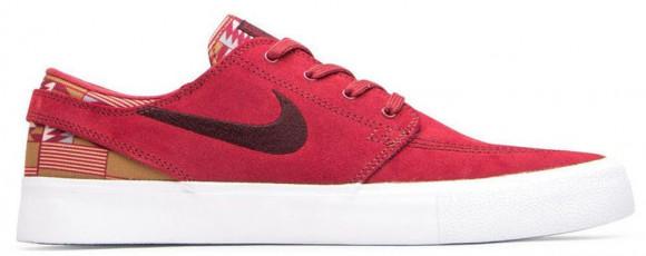 Nike SB Zoom Stefan Janoski RM Premium Skate Shoe - Red - CI2231-600