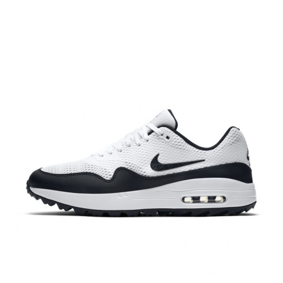 Nike Air Max 1 G Men's Golf Shoe - White - CI7576-100
