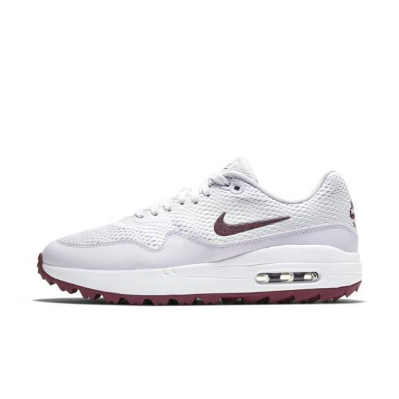 Chaussure de golf Nike Air Max 1 G pour Femme - Blanc - CI7736-103